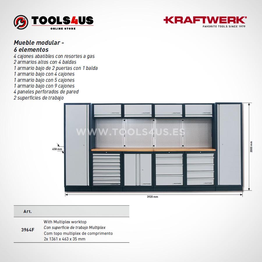 3964F Kraftwerk Mueble Modular Taller 6 Elementos 03 - Mueble Modular Taller 6 Elementos