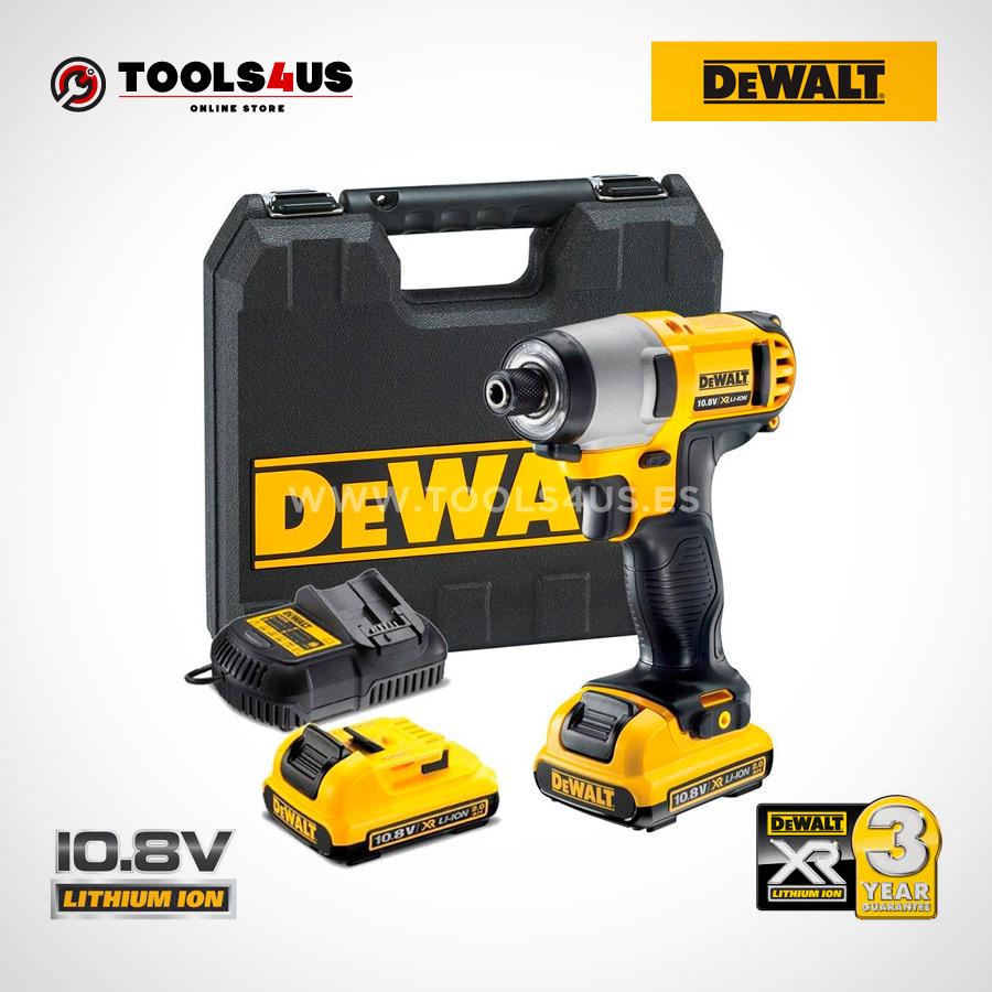 DCF815D2-QW DEWALT pistola llave atornillador impacto a bateria 10.8v herramientas profesionales _02