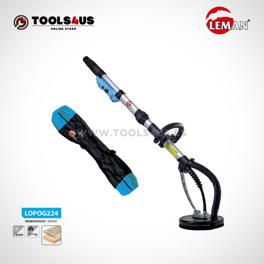 LOPOG224 Lijadora de Pared y Techo 225mm 620W Leman 01