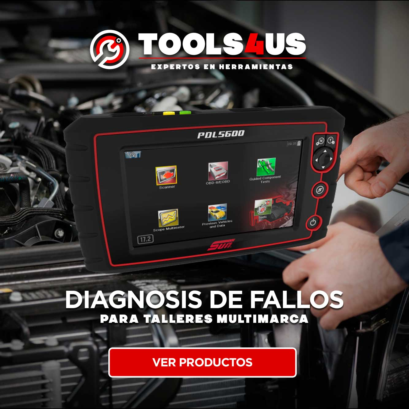 promos modulos diagnosis sun snap on diagnosico fallos coches autos taller multimarca automocion vag psa